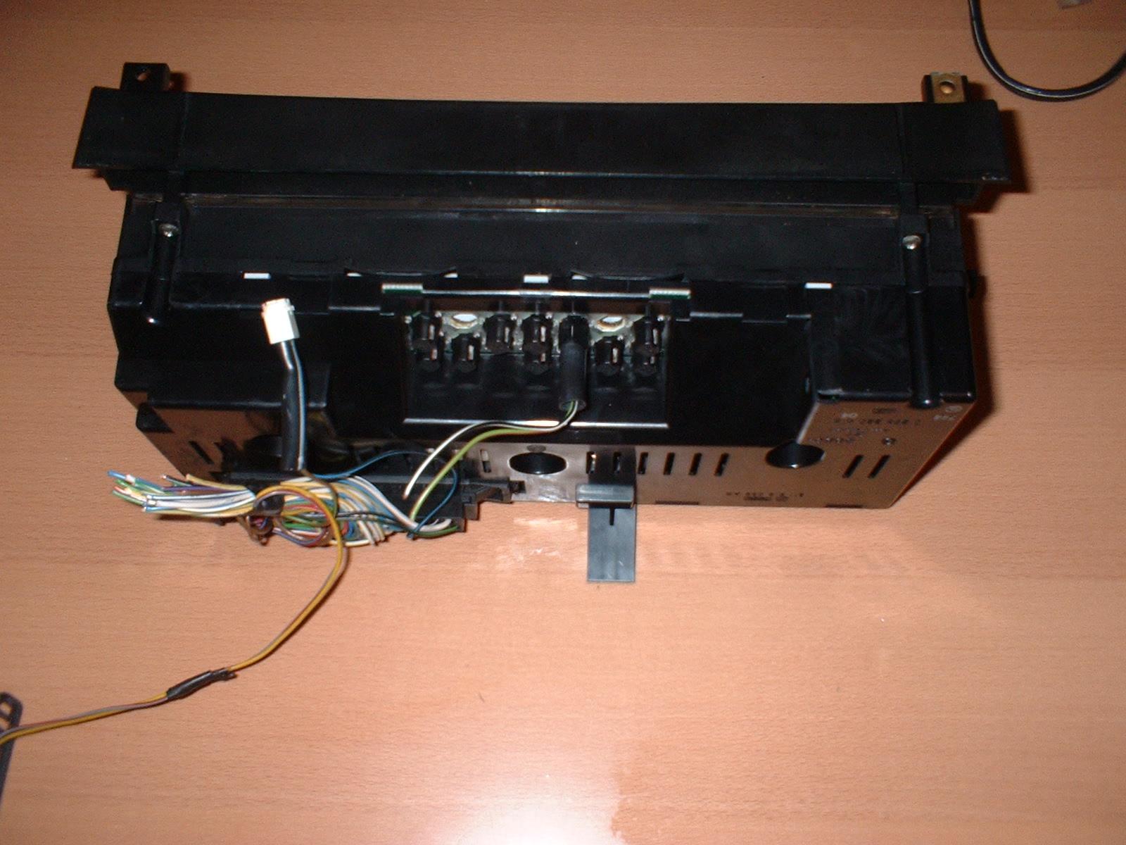 Retrofit Of A Digital Dash Into A 1985 Coupe Quattro