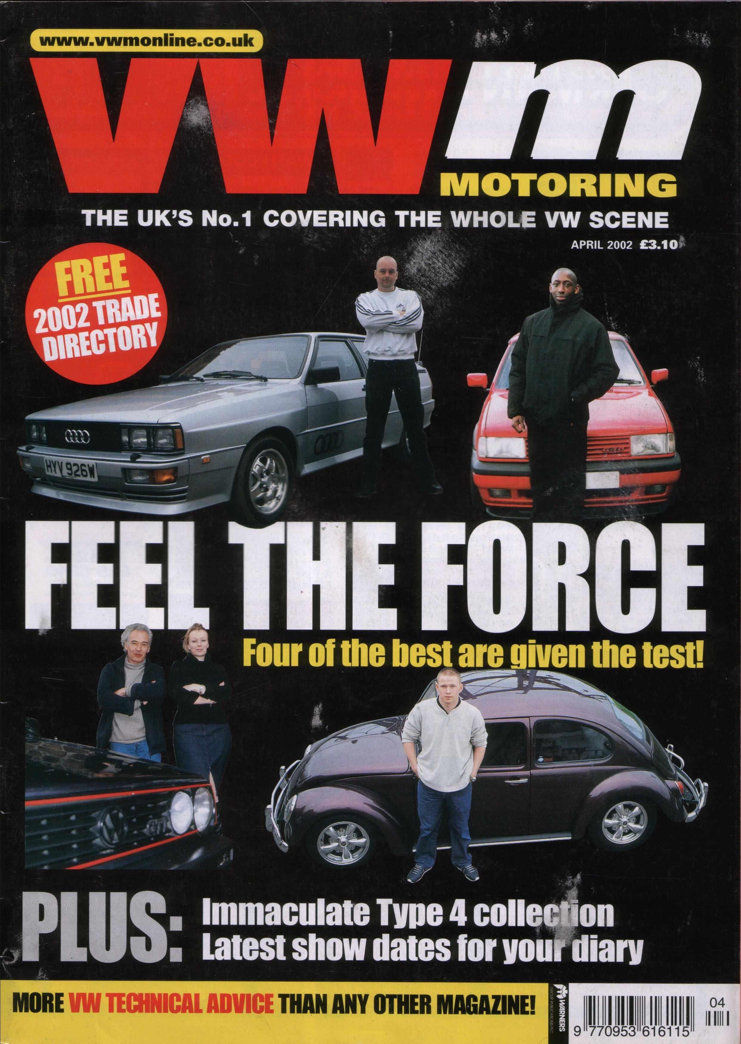 Audi Quattro Magazine Article  Audi Quattro Ma...