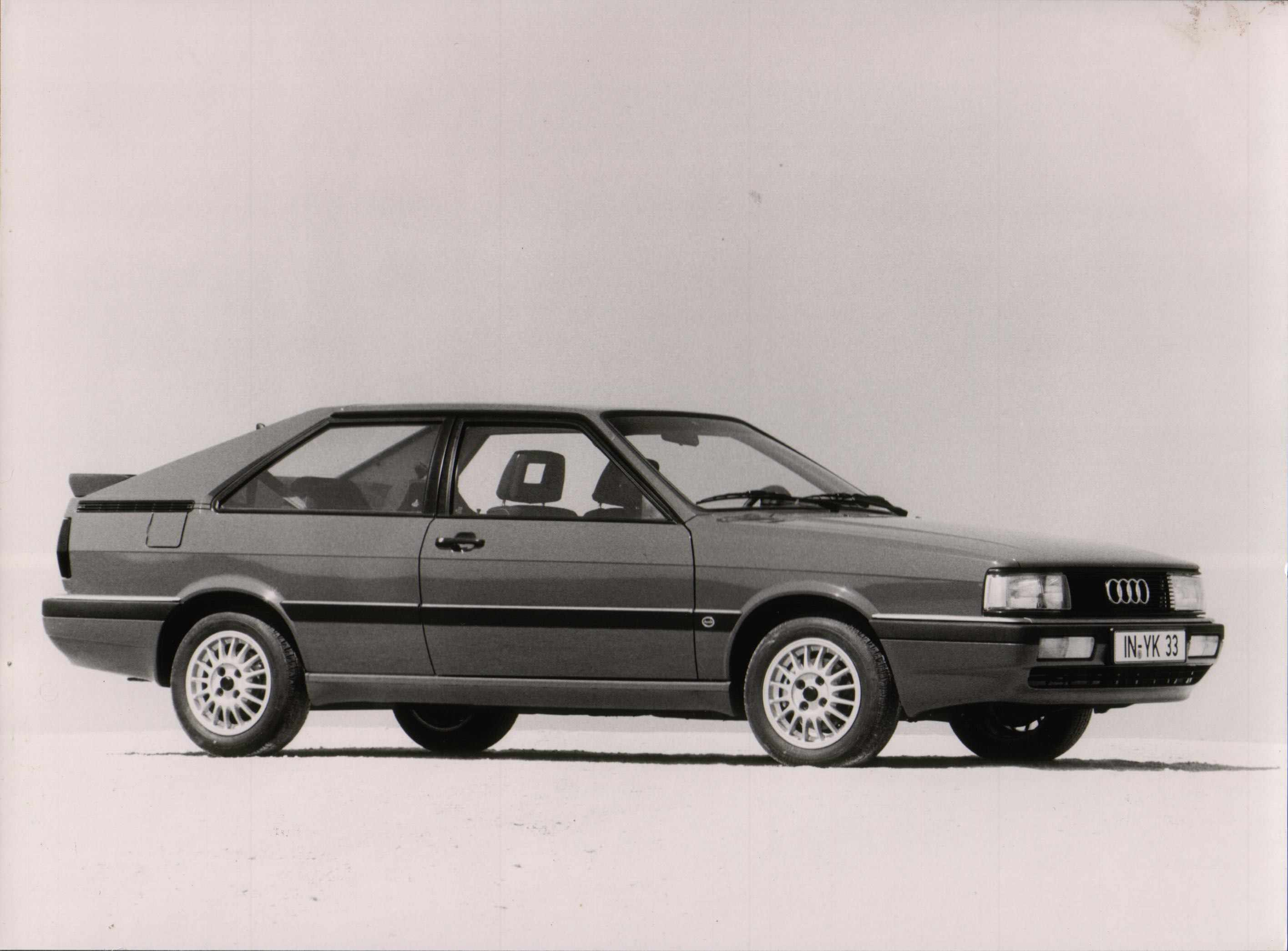 Audi Press Pack for the Coupe, GT and quattro, issued in September 1984