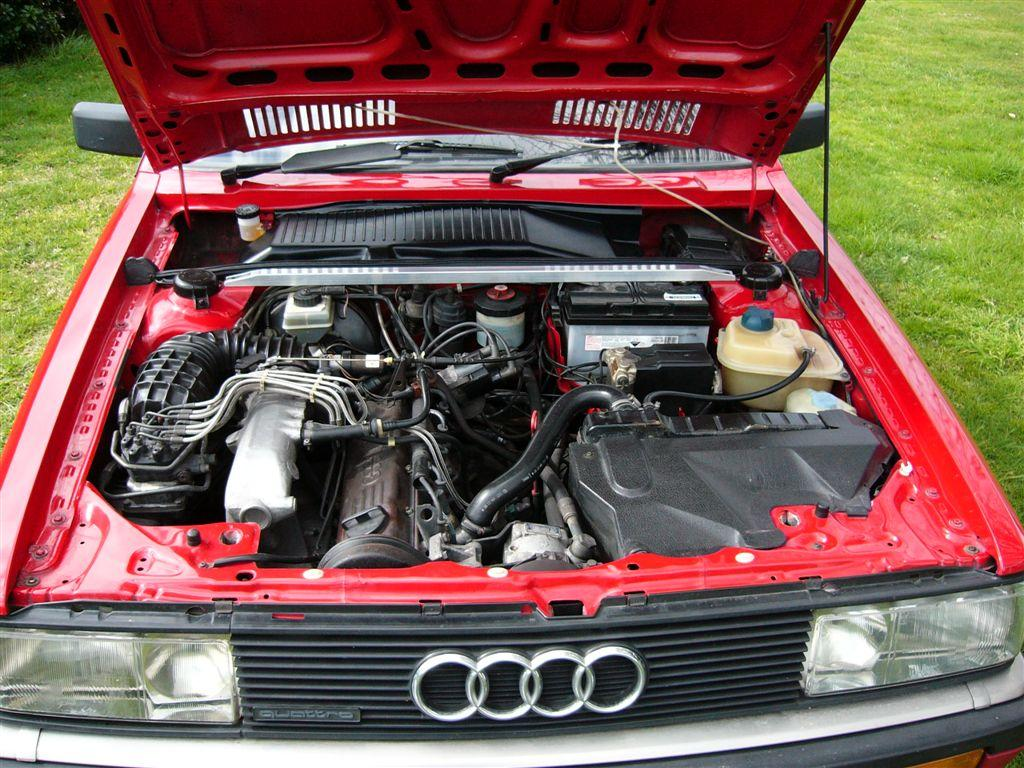 Audi Coupe And Coupe Quattro Air Filter Fuel Injection Maintenance
