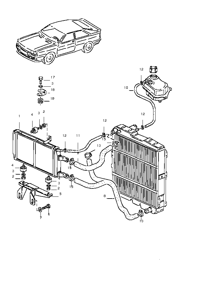 AUDI RADIATOR REPLACEMENT | AUTO PARTS WAREHOUSE | FREE SHIPPING